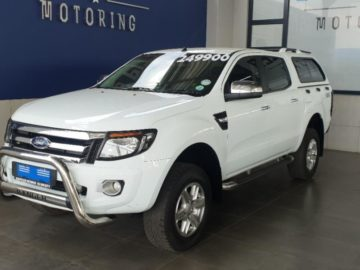 Ford Ranger 3.2TDCi Double Cab 4×4 XLT 2012
