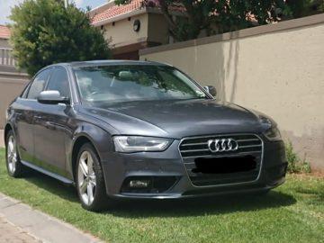 2013 Audi A4 auto & sunroof B8 facelift led spec