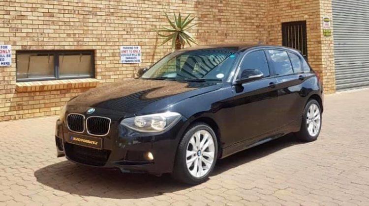 2012 BMW 118i F20 (m)